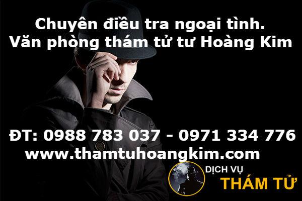 Công ty thám tử uy tín tại TPHCM