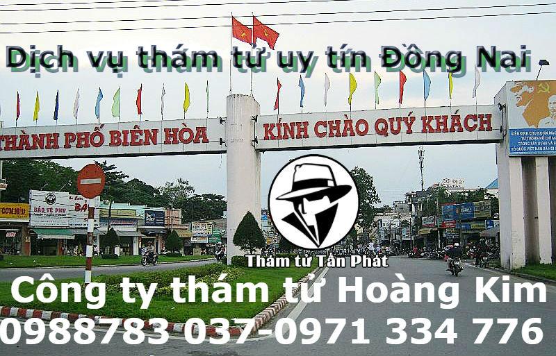 Dịch vụ thám tử tại Đồng Nai