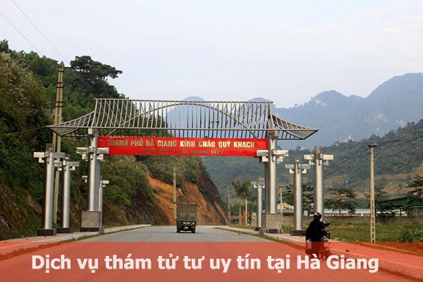 Thám tử tốt nhất tỉnh Hà Giang