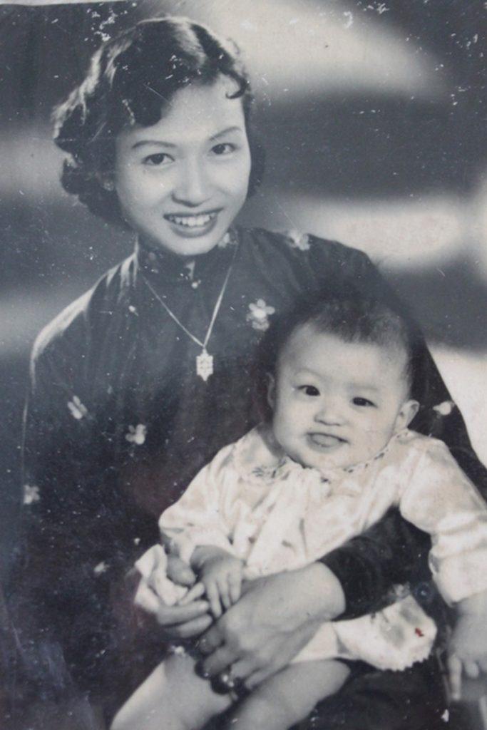 Cô Tường Vi em gái Vua Bảo Đại vợ 2 của ông Lê Văn Lương