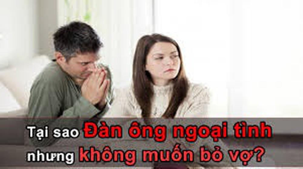 Làm gì khi chồng thú nhận ngoại tình
