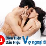 11 dấu hiệu vợi ngoại tình