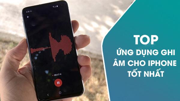 5 ứng dụng ghi âm cuộc cho iPhone Tốt Nhất