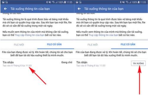 Cách khôi phục tin nhắn messenger bằng điện thoại di động